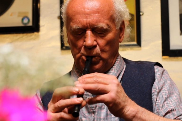 Gus O'Connor's Pub Doolin Clare Wild Atlantic Way Ireland - Irish Traditional Music Pub - Christy Barry Tin Whistle