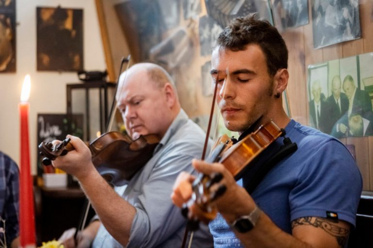 Gus O'Connor's Pub Doolin Clare - Irish Traditional Music Pub - Wild Atlantic Way Ireland - Kevin JB