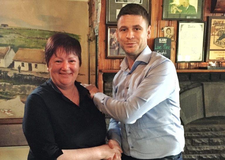 Mary Shanon & Patrick O'Connor - Gus O'Connor's Pub, Doolin, co. Clare